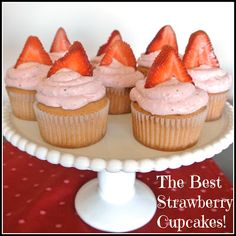 Gourmet Cooking For Two: The Best Strawberry Cupcakes