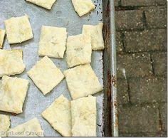 Rosemary and Garlic Crackers
