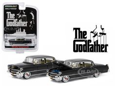 """diecastmodelswholesale - 1955 Cadillac Fleetwood Series 60 Special """"The Godfather"""" (1972) 1/64 Diecast Model Car  by Greenlight, $5.99 (http://www.diecastmodelswholesale.com/1955-cadillac-fleetwood-series-60-special-the-godfather-1972-1-64-diecast-model-car-by-greenlight/)"""