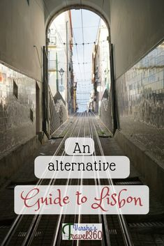 Lisbon is one of the most popular destinations in 2017. Tourists visit this charming capital city all year round. Here is my alternative guide to Lisbon which will help you to explore something extra or other than typical touristy things. #alternativeguide #lisbon #portugal