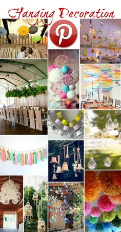 pinterest crafts table centerpieces | Boho Pins – Hanging Decorations