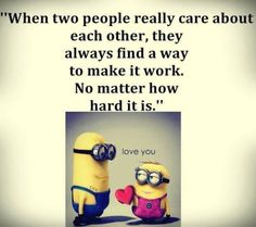 Funny Minions - Love is work, not a fairy tale. 。◕‿◕。 See my Despicable Me  Minions pins https://www.pinterest.com/search/my_pins/?q=minions