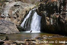 Falling Branch Waterfall, Rocks State Park