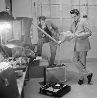 Johnny Cash listening to records #vintage #vinyl #lp #record #album