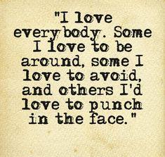 everybody needs some kinda love(;