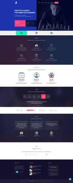 Free PSD Creative Website Design by Sandeep Kasundra