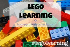 LEGO Learning with tons of resources for Learning with LEGOS! Homegrown Learners