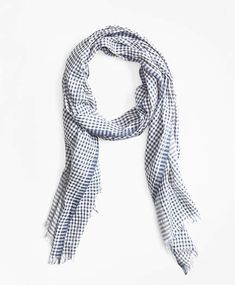 645f3208 Brooks Brothers Gingham Cotton Gauze Scarf Brooks Brothers, Gingham, Shawl,  Plaid, Paisley