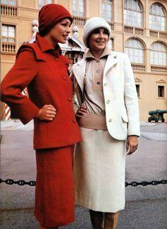 Pierre Cardin Boutique coat L'officiel 1973