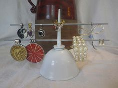 Vintage Oil Can Upcycled Jewelry Holder / Jewelry by CBEUsedBlues