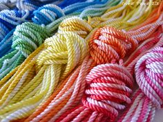 Divine Twine Rosary Twine -- best cord for tying rosaries ever!  :)