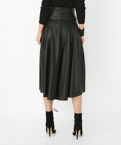 Look what I found on #zulily! Black Skirt #zulilyfinds
