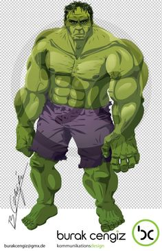 The Incredible Hulk by Burak Cengiz.