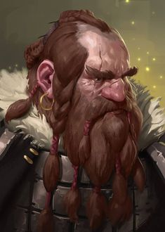 Skin made of Iron by Prospass dwarf beard armor clothes clothing fashion player character npc Fantasy Dwarf, Fantasy Rpg, Medieval Fantasy, Fantasy Portraits, Character Portraits, Character Art, Dungeons And Dragons, Fantasy Races, High Fantasy