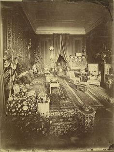 Cairo. Egyptian Home (Interior)  Collection: A. D. White Architectural Photographs, Cornell University Library  Photograph date: ca. 1865-ca. 1889