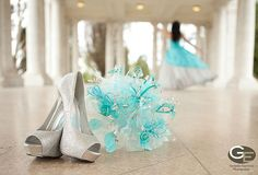 Quinceanera pictures ideas this is cute as crap! Quinceanera Dresses, Quinceanera Planning, Quinceanera Party, Sweet 16 Pictures, Quince Pictures, Prom Pictures, Tiffany Blue, 15th Birthday, Birthday Parties