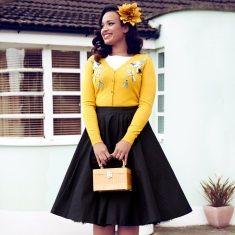 Womens New Tiger Print Vintage Retro Style Tea Dress