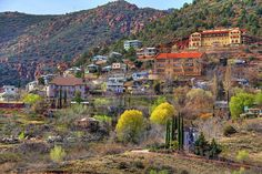 Jerome, Arizona..old copper mining town