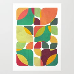 Last+days+of+summer+Art+Print+by+VessDSign+-+$16.00