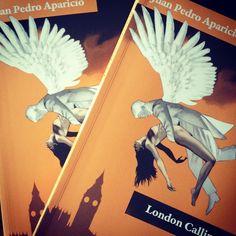 """Presentación en @CervantesyCia viernes 17 - 20:00 """"London Calling""""de Juan Pedro Aparicio. @paginasdeespuma"""