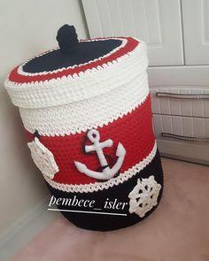 Hayırli Akşamlar Sipariş için dm ' den msj bırakabilirsiniz 🌸 . İplerim @beadyarn.boncukiplik @beadyarn.boncukiplik Ölcüler 40 ×50 cm .… Crochet Organizer, Crochet Storage, Crochet Box, Crochet Basket Pattern, Knit Basket, Crochet For Kids, Crochet Yarn, Crochet Patterns, Mobiles En Crochet