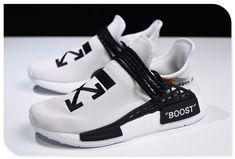 6a39aea0e9603 Virgil Abloh OFF-WHITE x Pharrell x adidas NMD Hu Race Trail Light Grey