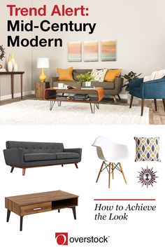 If You Dream Of Low Slung Sofas, Tapered Furniture Legs, Daring Geometrics,