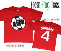 Soccer T Shirt Design Ideas soccer tshirt love my soccer player shirt spirit shirt Soccer Ball Birthday Shirt Personalized Two By Freshfrogtees