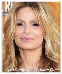 Makeup Tips for Square Face Shape Rectangle Face, Kyra Sedgwick, Square Faces, Long Faces, Face Photo, Beauty Queens, Facial Hair, Woman Face, Face Shapes
