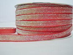 Craft supplies and Handmade Tassels by ichimylove Bulk Ribbon, Red Ribbon, Glitter Ribbon, Red Glitter, How To Make Headbands, Purse Handles, Fun Projects, Craft Supplies, Etsy Seller