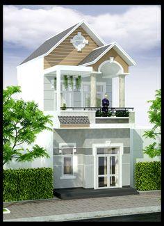 Mẫu nhà phố đẹp 2 tầng mặt tiền 5m mái thái là một phong cách nhà phố phản ánh trọn vẹn nghệ thuật kiến trúc đương đại Việt Nam trong kỷ nguyên hiện đại -> http://maunhadepmoi.com/mau-nha-pho-2-tang-mat-tien-5m-mai-thai-dep-tai-vinh-loc-a-tp-hcm.html