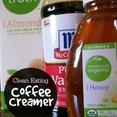 Clean Eating Coffee Creamer Clean Eating Coffee Creamer that you can make with 3 ingredients! Clean Eating Coffee Creamer that you can make with 3 ingredients! Healthy Drinks, Healthy Snacks, Healthy Eating, Healthy Recipes, Diet Recipes, Advocare Recipes, Candida Recipes, Dinner Healthy, Yummy Recipes