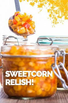 Sweetcorn Relish is my absolute favourite burger topping (although never alone) making it at home means none of the gloopy nonsense this is bright & zingy. via Krumpli Hot Cocoa Recipe, Cocoa Recipes, Hot Dog Recipes, Coffee Recipes, Sweetcorn Bake, Chicken And Sweetcorn Soup, Burger Toppings, Corn Relish Recipes, Dips
