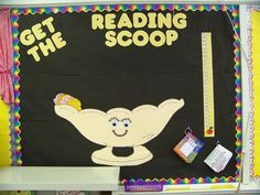 Students fill out a reading response card (shaped like a scoop of ice cream) after they read a book - add it to your class sundae throughout the school year...trying this next year