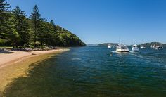 The Basin on Pittwater, Sydney / hike in or sail in but great camping grounds
