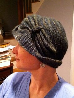 Cloche Divine by Meghan Jones | malabrigo Worsted in Pearl Ten