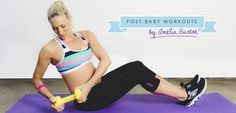 the healthier and happier you are within yourself, the more you'll be able to offer your little one. I am so excited to share my post baby body workout, and some tip on how to get your body (and head) back in the game.