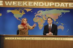 Saturday Night Live: Seth Meyers, Kate McKinnon // Weekend Update [Photo Credit: ©2013/Dana Edelson/NBC]