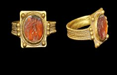 Roman Gold Ring with Rectangular Bezel, 2nd century A.D.