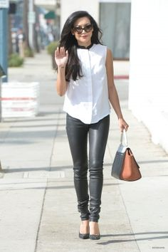 Naya Rivera. Proof that cool people actually do come out of Santa Clarita.