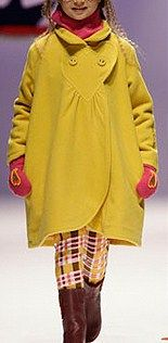 Children's Cast Coat Pattern - Moldes Moda por Medida: MOLDE DE CASACO CRIANÇA