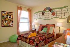 volleyball themes for bedrooms - Bing Images