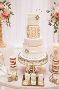 Glamorous Era Theme Wedding (Christmas Cake Wedding)