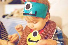 sugar lander: noah's 1st birthday - little monster party hats