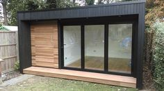new ideas garden shed office backyard studio pool houses Shed Office, Backyard Office, Outdoor Office, Backyard Studio, Outdoor Rooms, Office Storage, Backyard Sheds, Storage Area, Storage Room