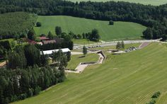 Salto Architects — Open-air Exhibition Grounds of the Estonian Road Museum — Image 1 of 21 — Europaconcorsi