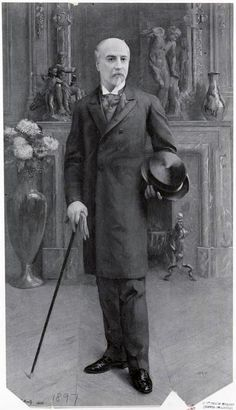 1897 A Well Dressed Man