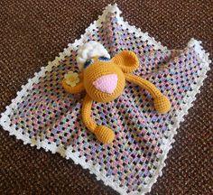 SHEEP Baby security blanket crochet. Baby afghan. von knittingloop, €15.00