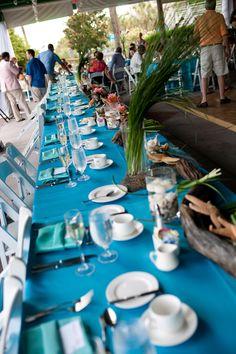 Beach Wedding head table