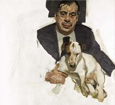 Lucian Freud - Guy and Speck